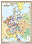 The Thirty Years War Map (unfolded)