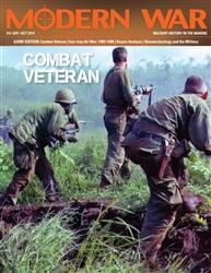 Modern War 31 Combat Veteran -  Decision Games