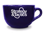 Java Mug with Strategy & Tactics logo