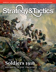 Decision Games: Strategy and Tactics Issue  280: Soldiers