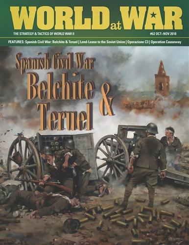 World at War Issue 62: Spanish Civil War Belchite and Teruel - Decision Games