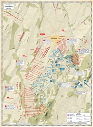 Operation Bagration/Vistula-Oder Operation Map (folded)