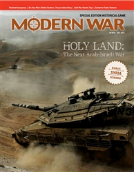 Modern War, Issue #8 Holy Land: The Next Arab-Israeli War MW008-2T
