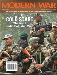 Modern War 36:  Cold Start:The Next India-Pakistan War - Decision Games