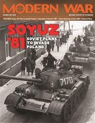 Modern War 38: Soyuz 81: Soviet Plans to Invade Poland - Decision Games