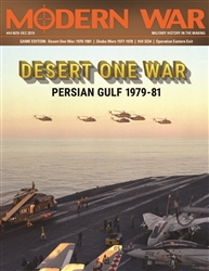 Modern War 44: Desert One War -  Decision Games