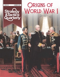 Strategy & Tactics Quarterly #14 - Origins of World War I w/ Map Poster