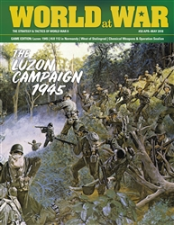 World at War Issue 59: The Luzon Campaign, 1945 -  Decision Games