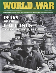 World at War Issue 61: Peaks of the Caucasus -  Decision Games